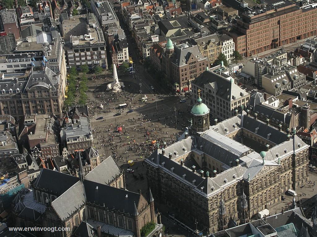 foto dam square amsterdam